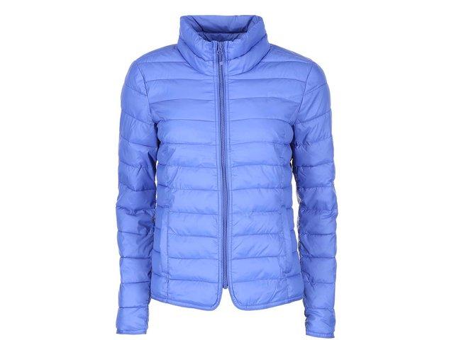 Modrá lehká prošívaná bunda ONLY Tahoe Nylon