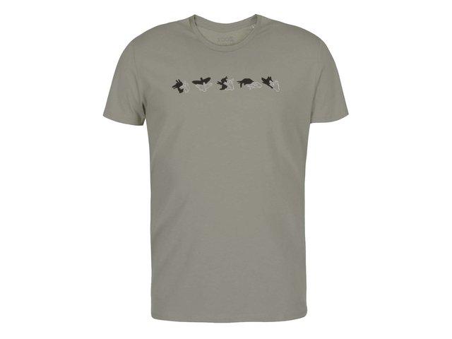 Šedé pánské triko ZOOT Originál Stínohra