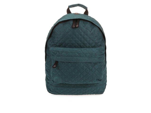 Tmavě zelený prošívaný unisex batoh Mi-Pac Quilted