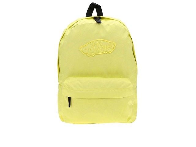 Zářivě žlutý batoh Vans Realm