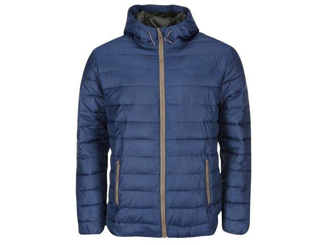 Modrá prošívaná bunda ONLY & SONS Shelton