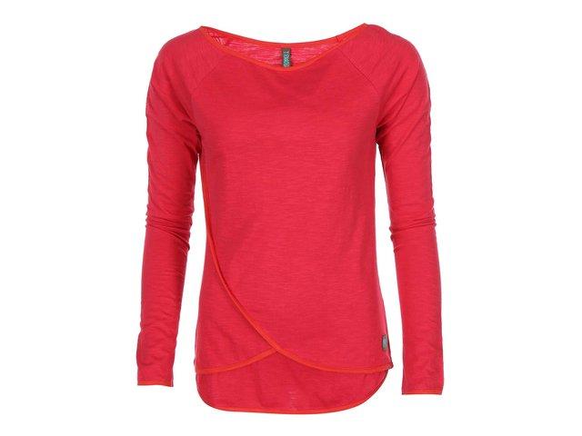 Červené triko s dlouhým rukávem Tranquillo Simsala