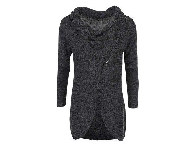Tmavě šedý cardigan ONLY Hayley