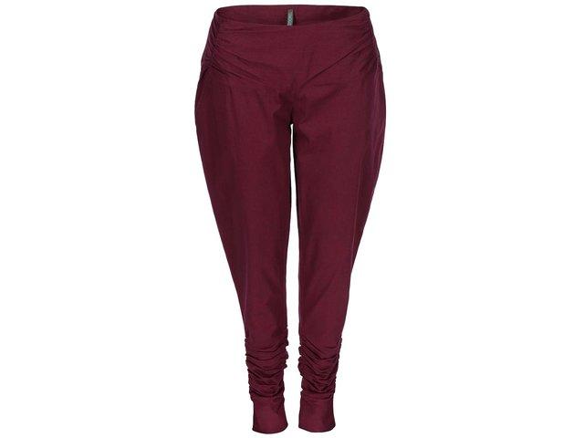Vínové dámské kalhoty Tranquillo Hera