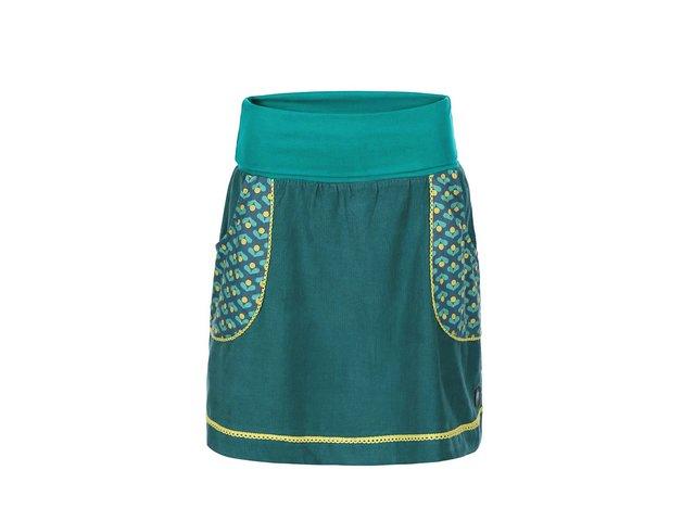 Tyrkysová sukně s kapsami Tranquillo Pradipi