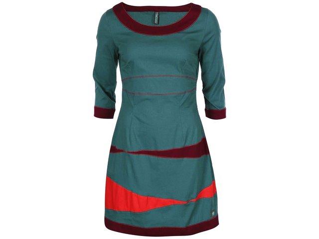 Tyrkysové šaty Tranquillo Elektra