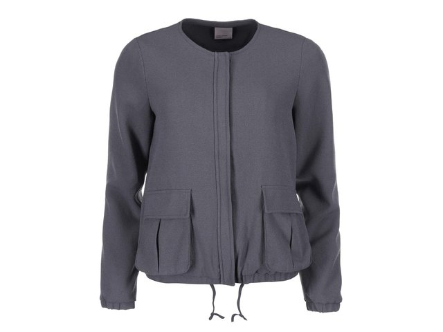 Tmavě šedá lehká bunda Vero Moda Ebru