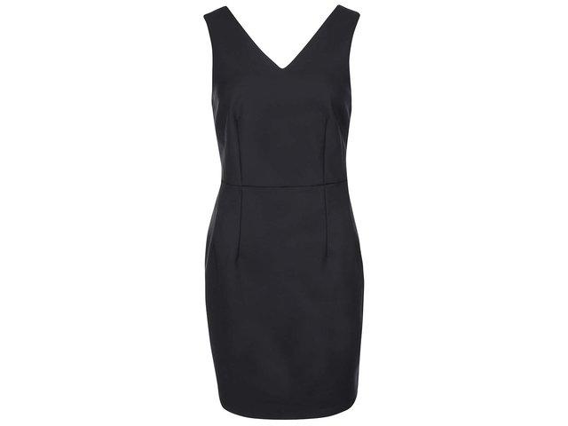Černé pouzdrové šaty VILA Viparal