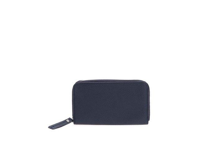 Tmavě modrá peněženka na zip Pieces Dana