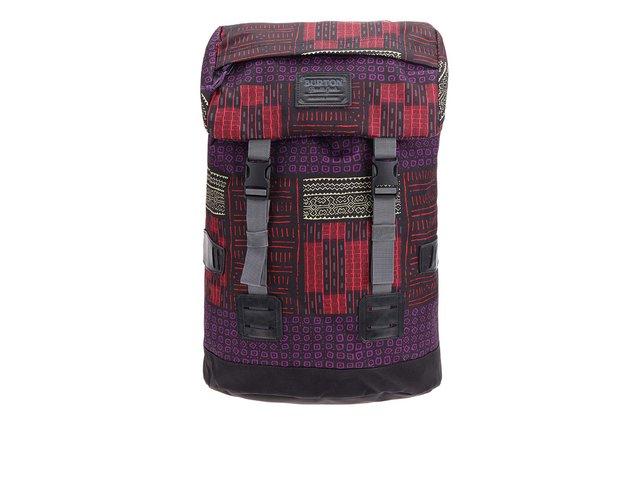 Černý batoh s barevnými vzory Burton WMS Tinder