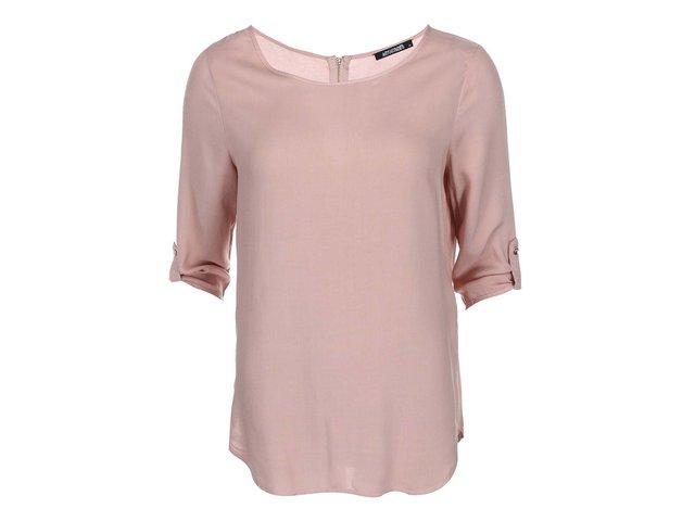 Světle růžový top s 3/4 rukávy Haily´s Mara