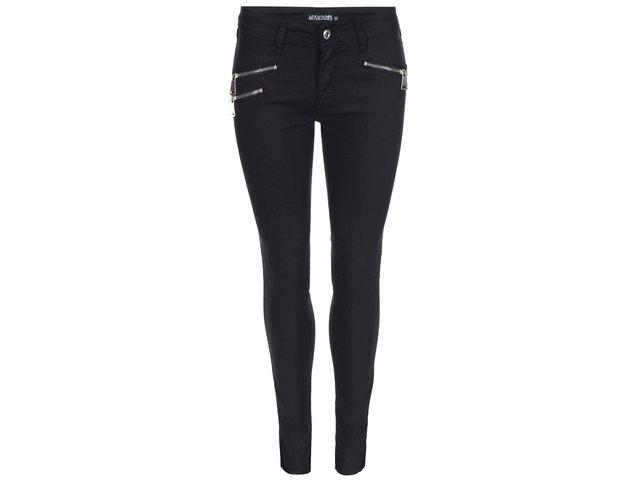 Černé džíny se zipy Haily´s Nadira