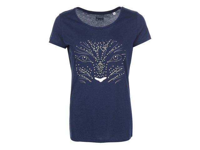 Tmavě modré dámské svítící tričko ZOOT Originál Avatar