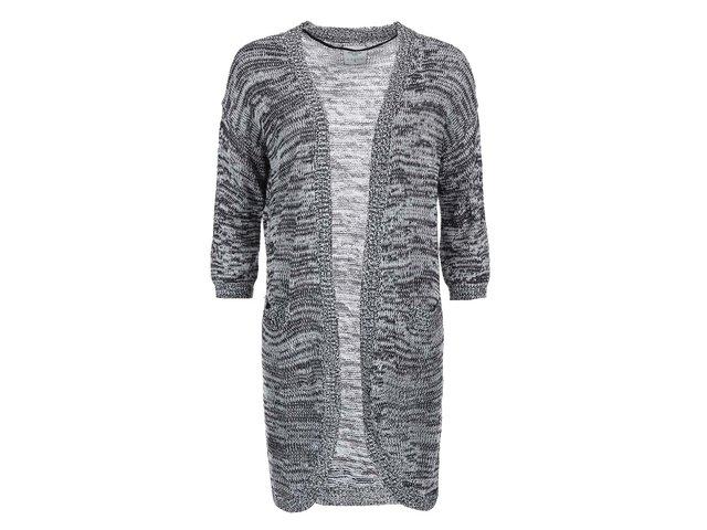 Bílo-černý cardigan Vero Moda Joelle