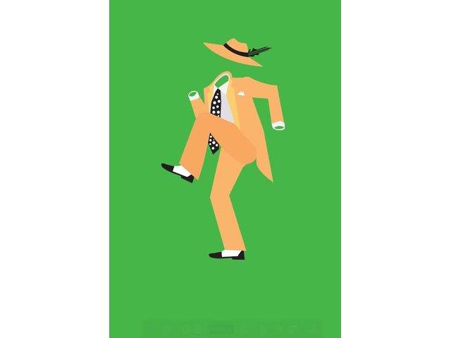 Zelený plakát ZOOT Originál Maska