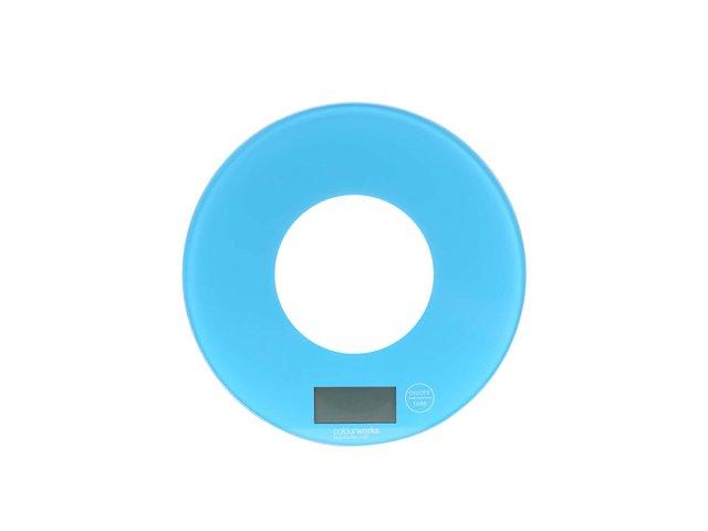 Modrá skleněná kuchyňská váha Kitchen Craft