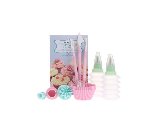 Set na pečení a zdobení cupcakes Kitchen Craft