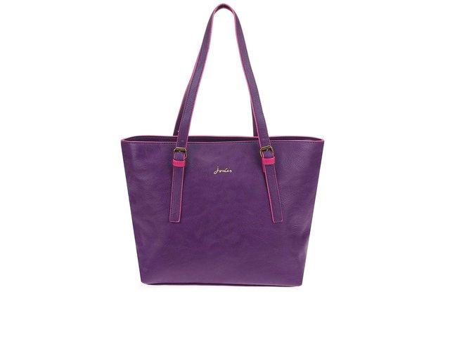 Tmavě fialová kabelka Tom Joule Carnaby