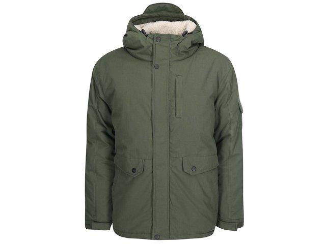 Khaki bunda s kapucí D-Struct Stirling