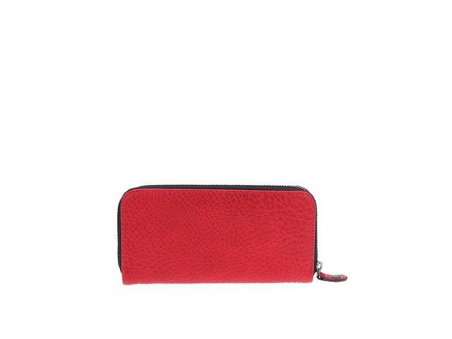 Červená peněženka Pieces Roma