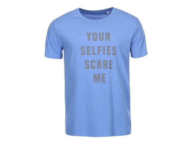 Světle modré pánské triko ZOOT Originál Your Selfies