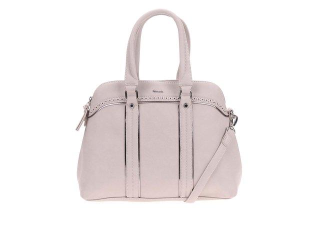 Béžová dámská kabelka s odnímatelným popruhem Tamaris Finja