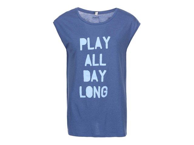 Modré dámské tričko ZOOT Originál Play All Day Long