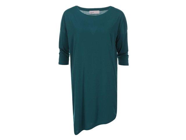 Zelené šaty s tříčtvrtečním rukávemVero Moda Loma
