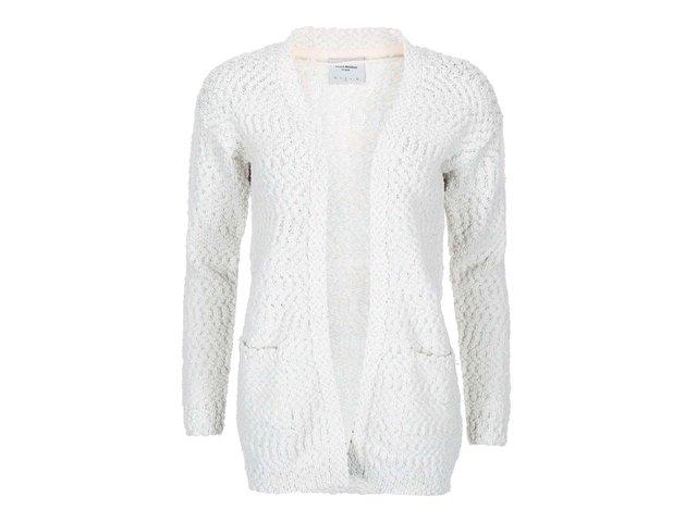 Šedo-bílý žíhaný cardigan Vero Moda Kimperly