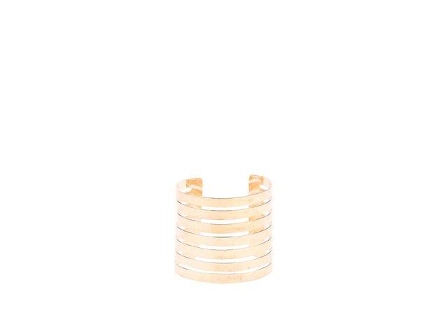 Široký náramek ve zlaté barvě Joe Cool