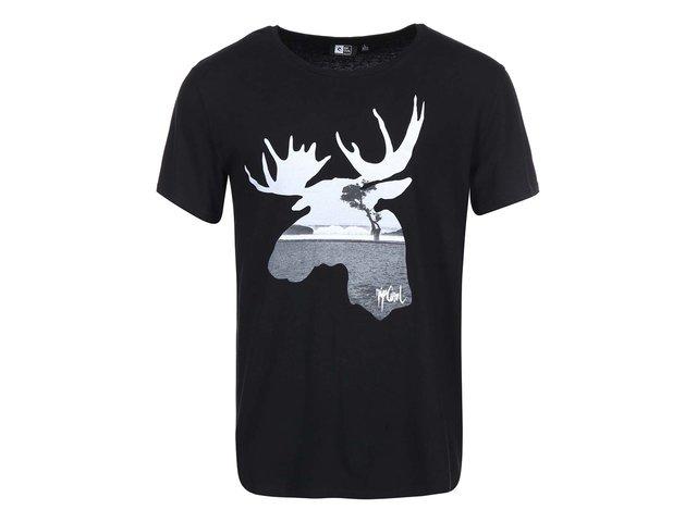 Černé pánské triko s losem Rip Curl