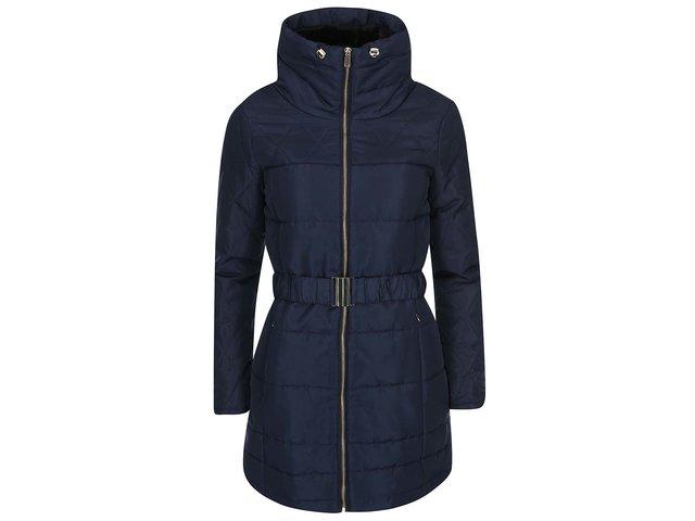 Tmavě modrý prošívaný kabát Vero Moda Linea
