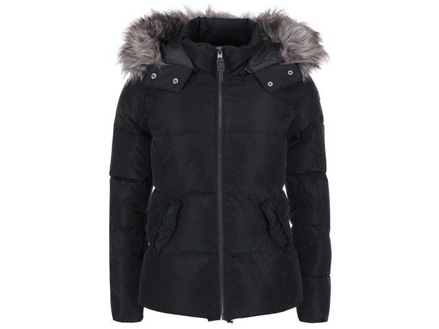 Černá prošívaná bunda ONLY Lana