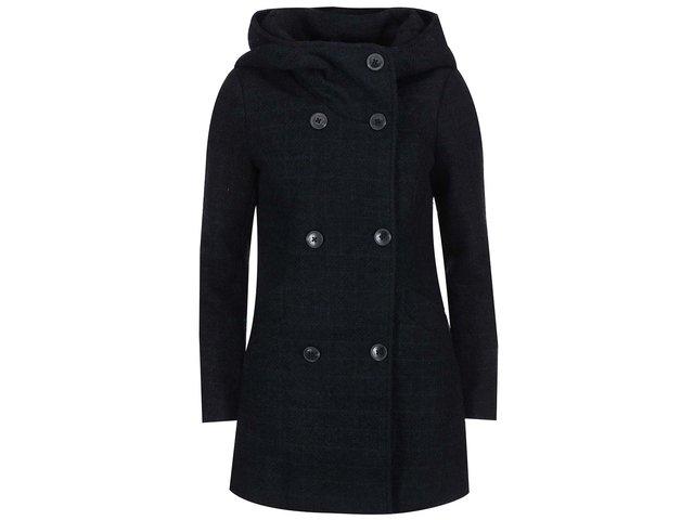 Tmavě modrý kabát ONLY Idea