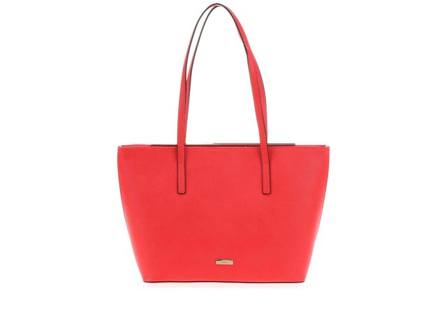 Červená kabelka s kovovým detailem ALDO Vanwert
