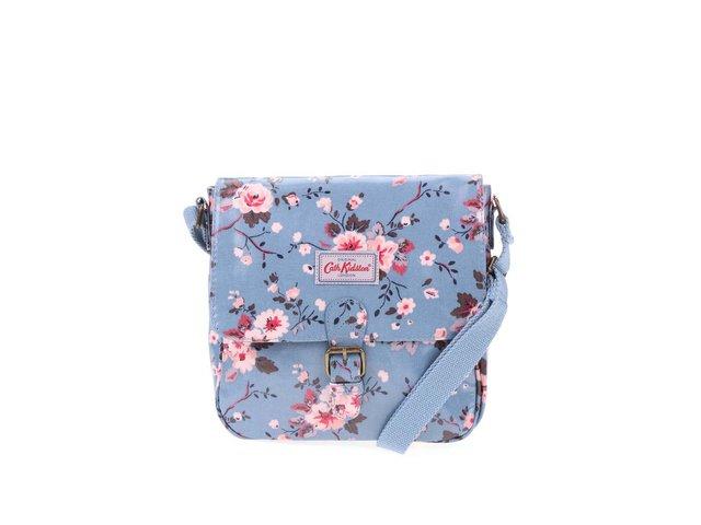 Modrá květovaná crossbody kabelka Cath Kidston