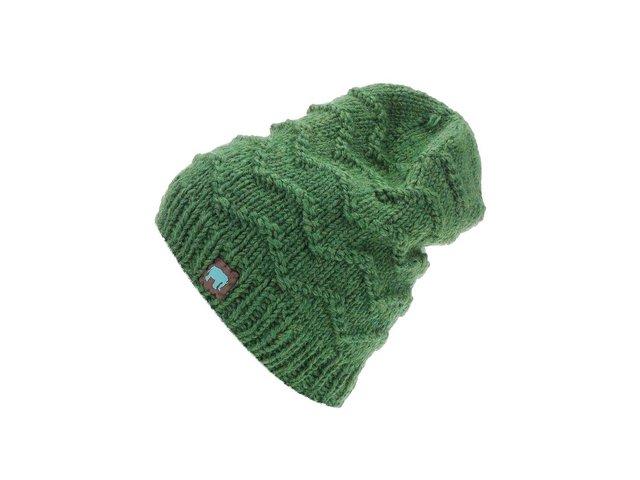 Zelená pletená čepice Tranquillo Anuket