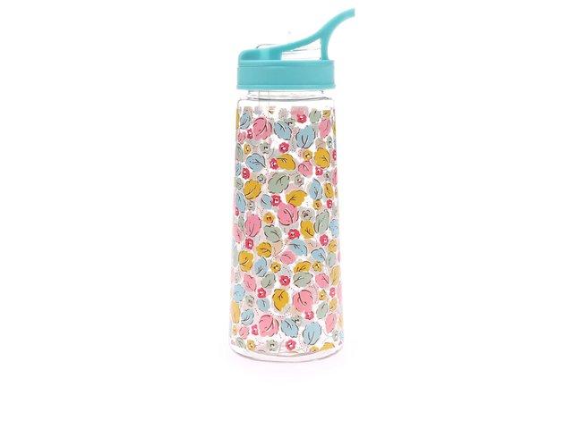 Plastová láhev s motivem lístků Cath Kidston