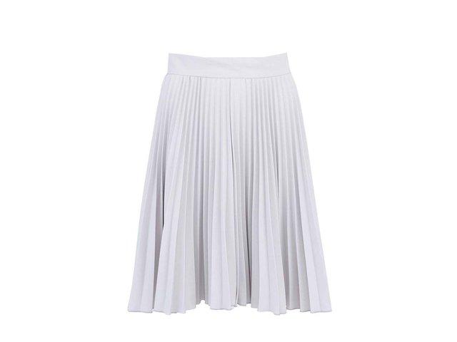Šedá plisovaná sukně Closet