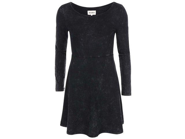 Šedo-černé šaty Desires Roby