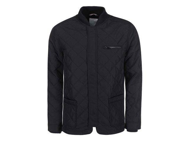 Černá prošívaná bunda Tailored & Originals Neath