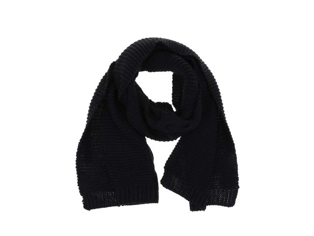 Černá pletená šála Pieces Rifka