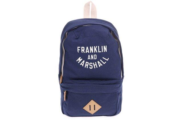 Tmavě modrý menší unisex batoh Franklin & Marshall