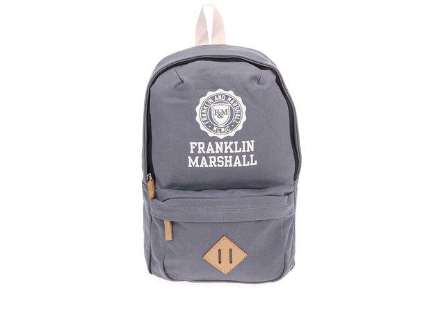Šedý menší unisex batoh Franklin & Marshall