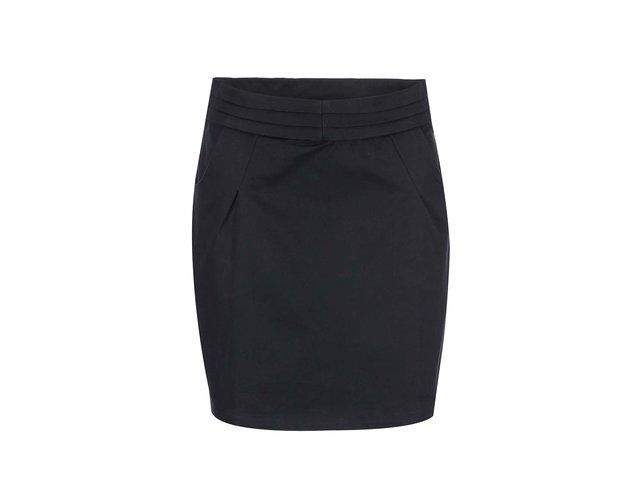 Černá sukně s kapsami Skunkfunk Patrice