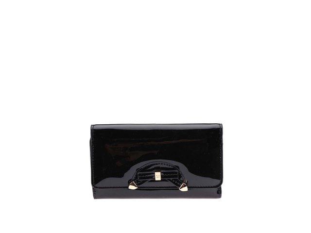 Černá lesklá peněženka Gionni Ariadne