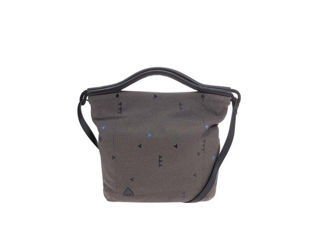 Tmavě šedá kabelka se vzory Skunkfunk Josa