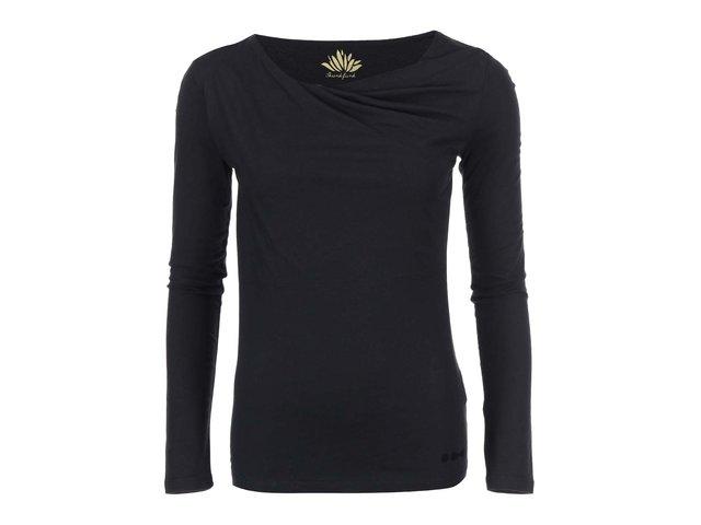 Černé triko s dlouhým rukávem Skunkfunk Bi