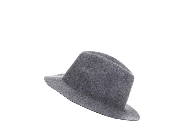 Šedý dámský klobouk Cheap Monday Fantastic Felt