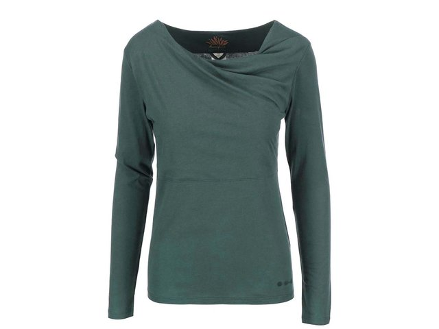 Zelené triko s dlouhým rukávem Skunkfunk Bi